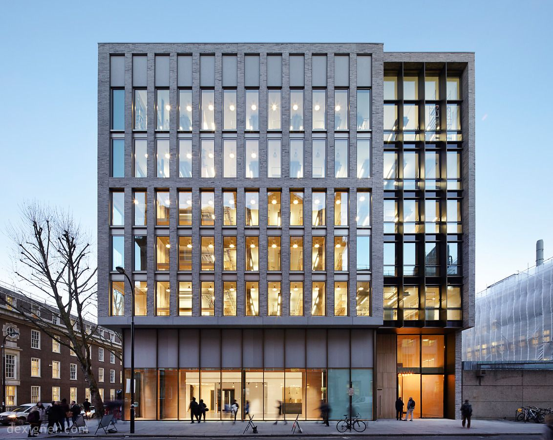Hawkins Brown Unveils New Central London HQ for the UCL Bartlett ...
