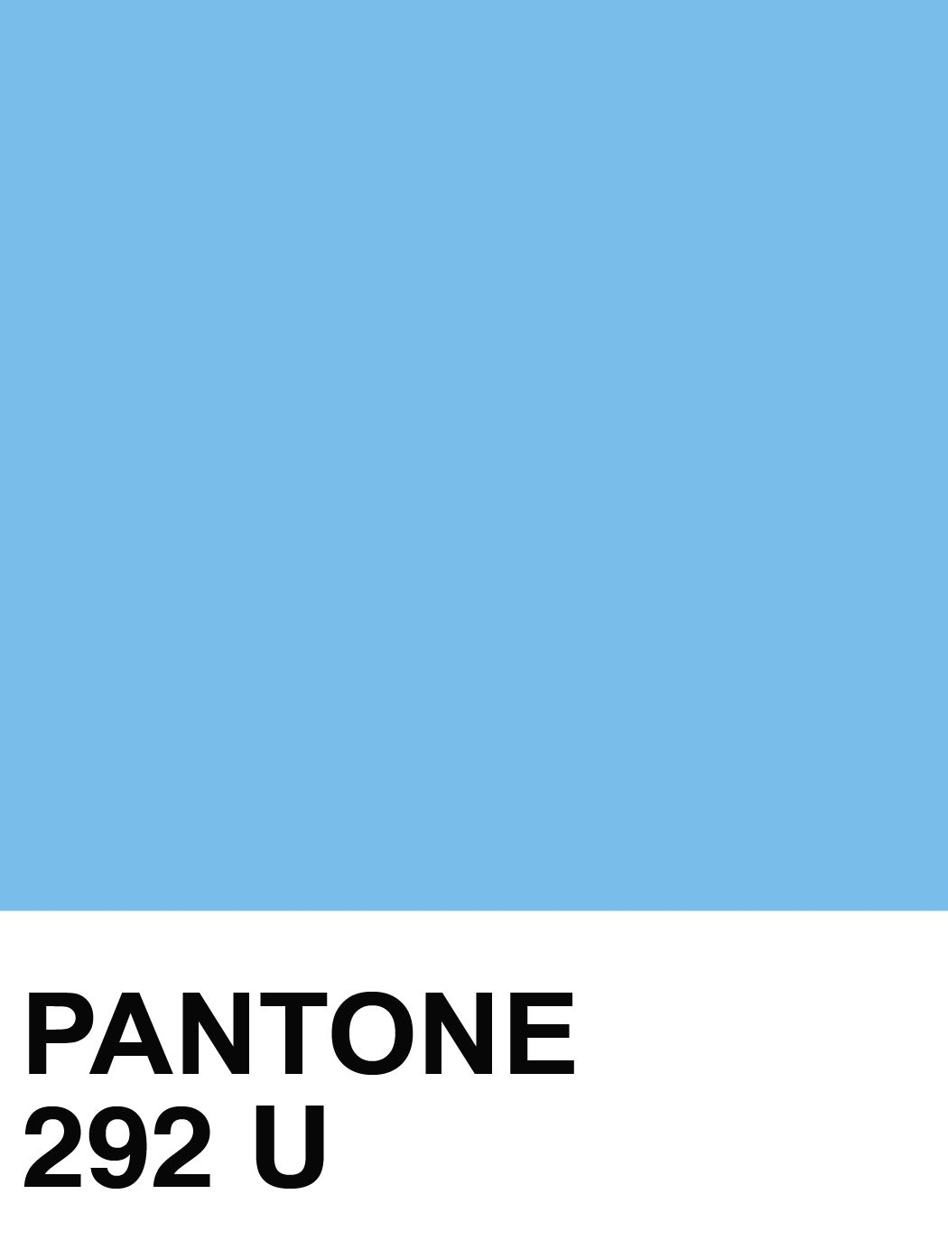 Pantone 292 U Blue Color Swatches Columbia