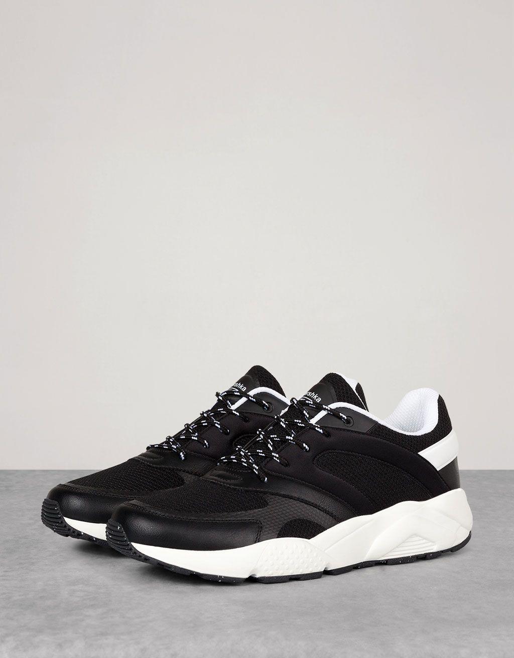 pretty nice 6a101 9be51 Bershka Colombia - Men s mesh technical sports shoes