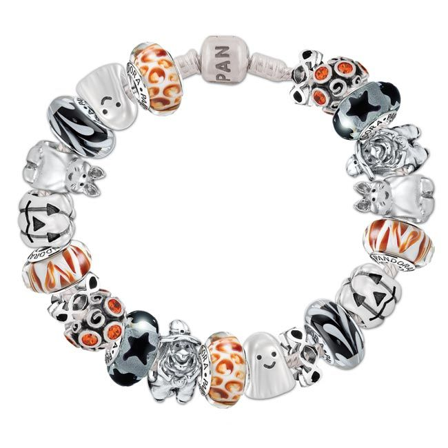 pandora bracelet turned orange