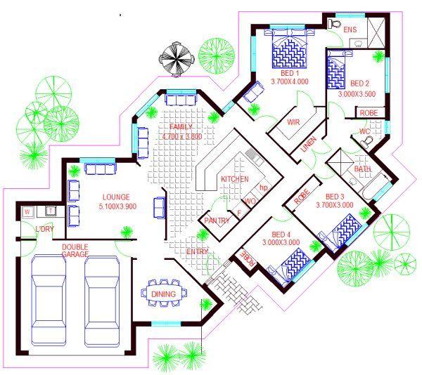 Http Www Affordableaustraliankithomes Com Au Images 107mc Pl 600 Jpg House Floor Plans Floor Plans Display Homes