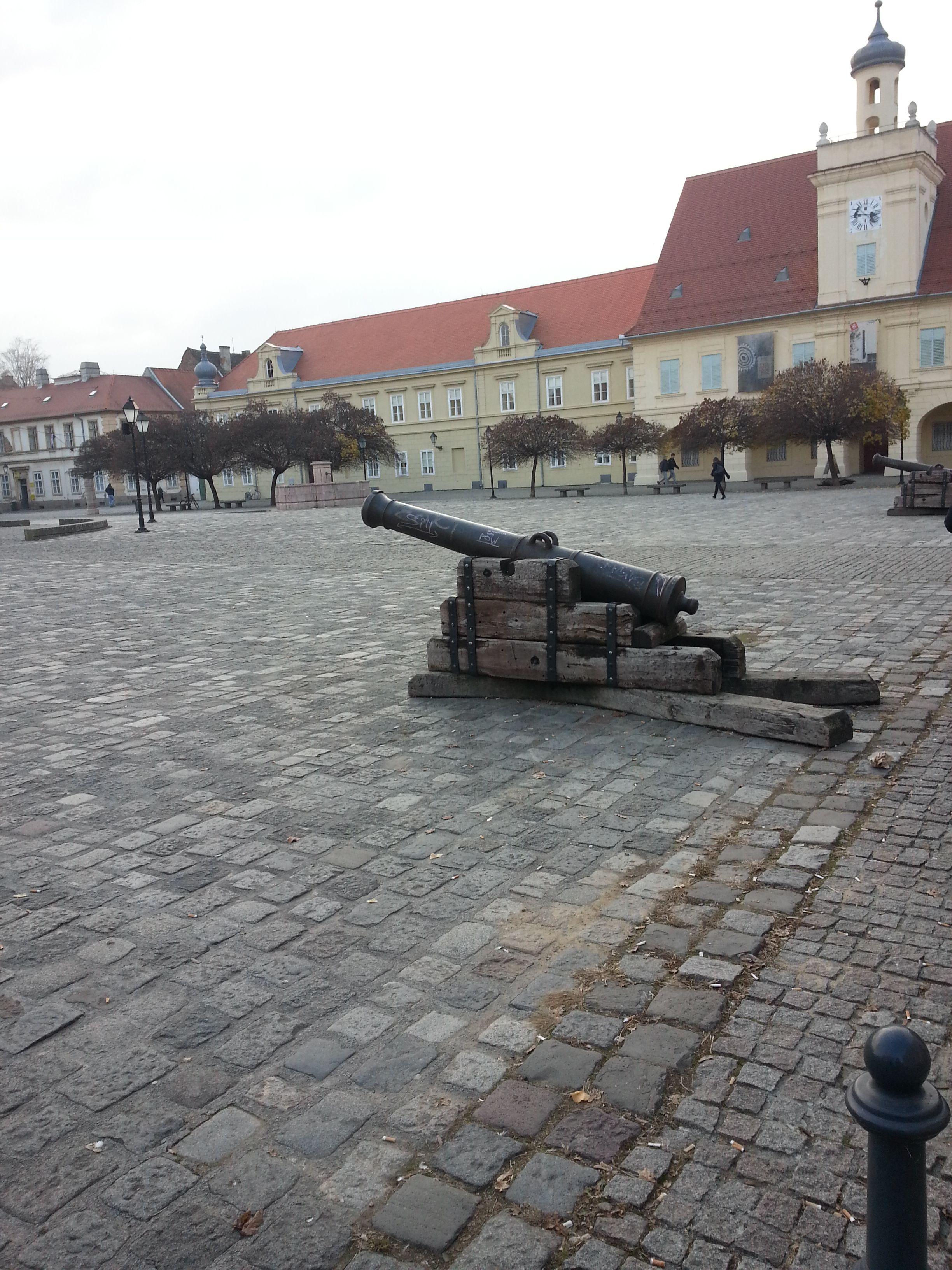 Square Osijek Croatia Cro Croatie