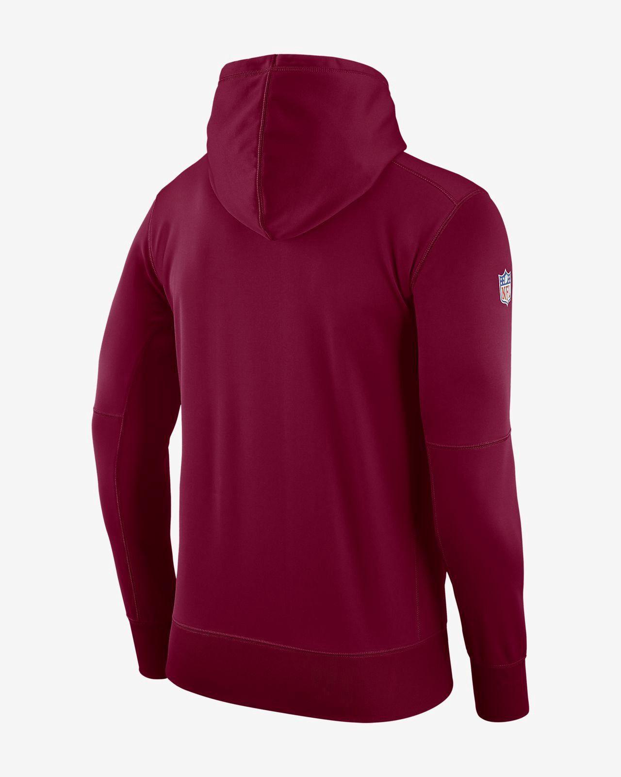 wholesale dealer c4fe2 b8d44 Nike Dri-Fit Therma (Nfl Redskins) Men's Pullover Hoodie ...