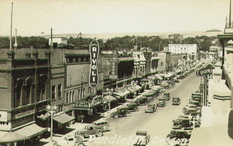 historic pendleton oregon images