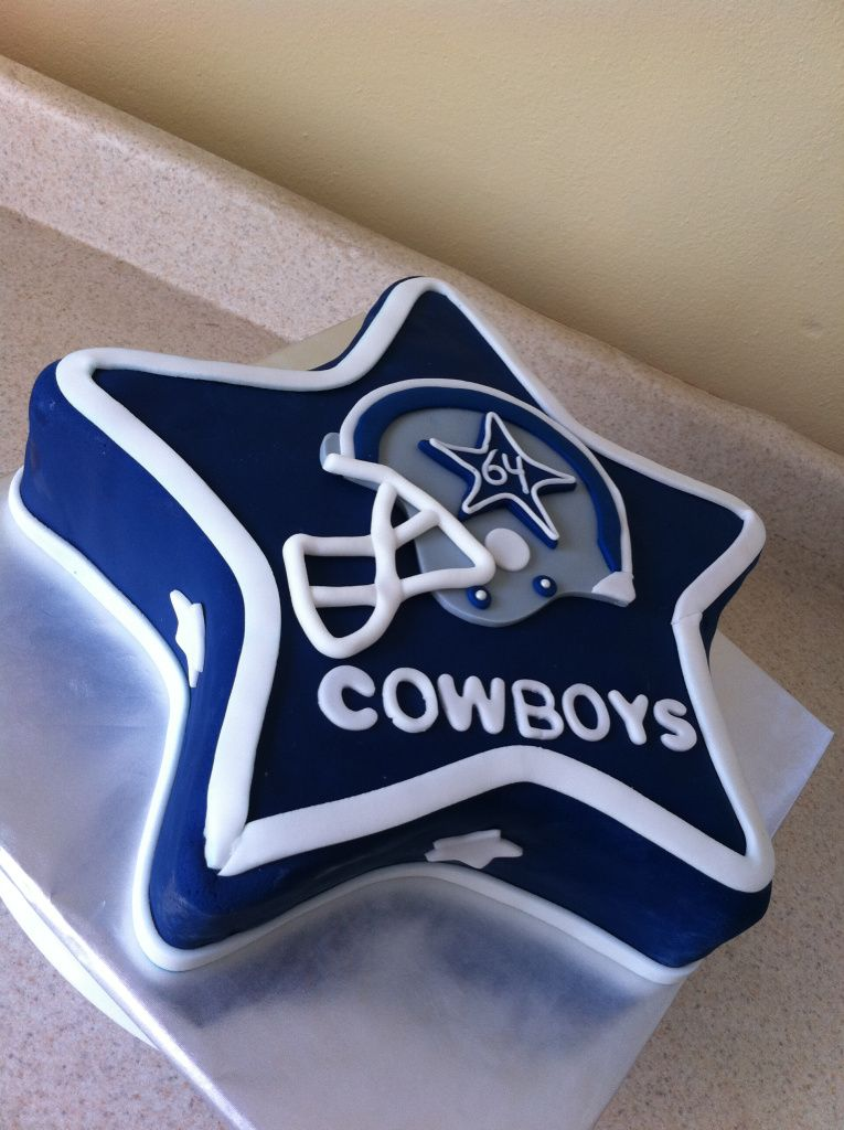 Dallas Cowboys birthday cake Sports Cakes Pinterest Cowboy
