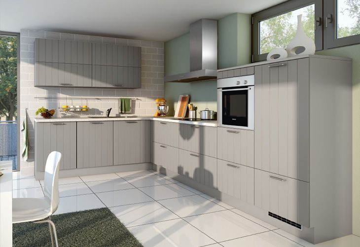 küche in grau eckküche landhausküche wwwdyk360kuechende