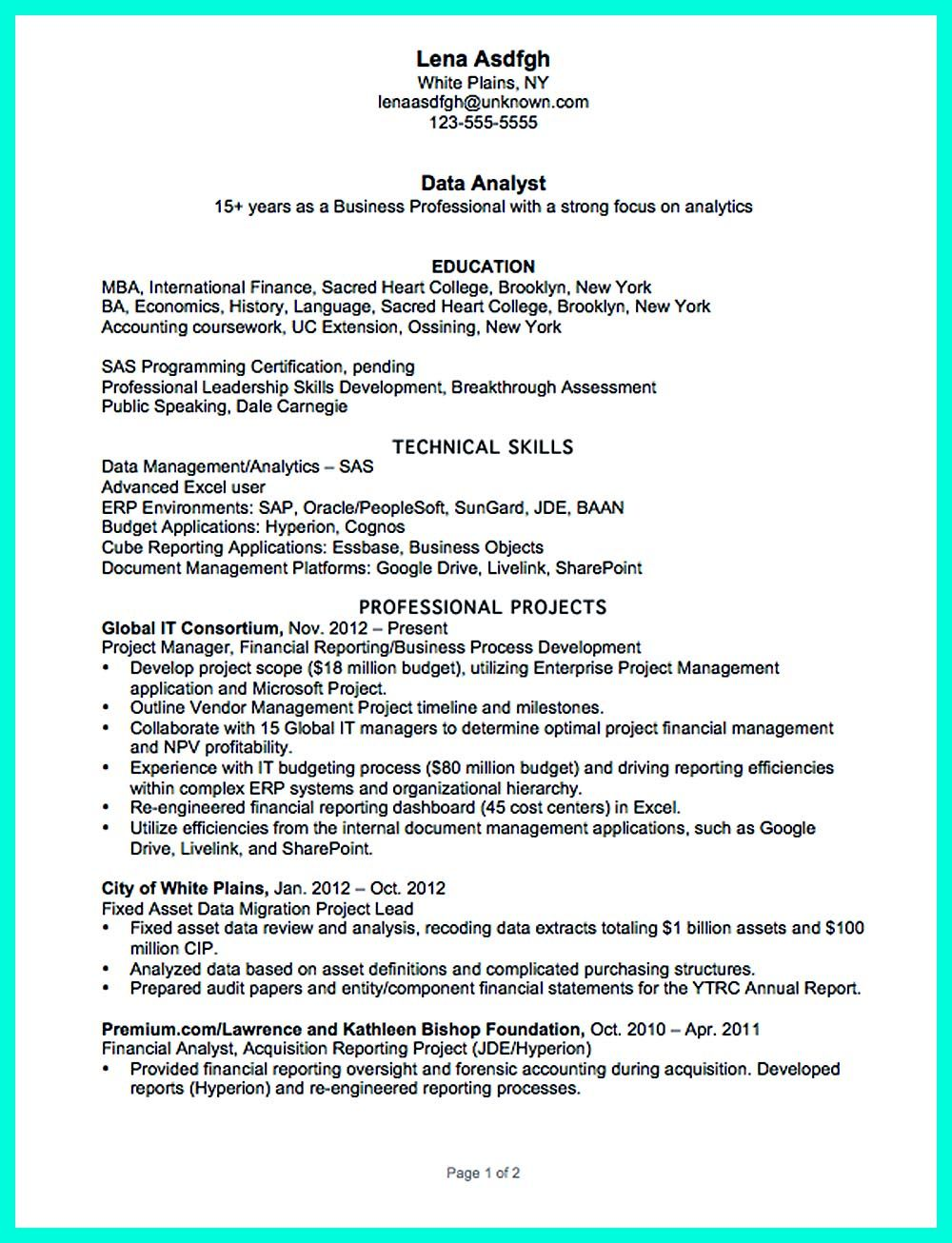Sample Management Report. Vice President Of Administration Resume ...