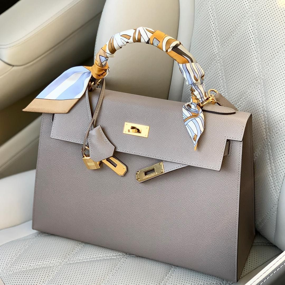 Photo of Fancy.fashionable on Bag of the day … whats your favorite hermes neutral color…