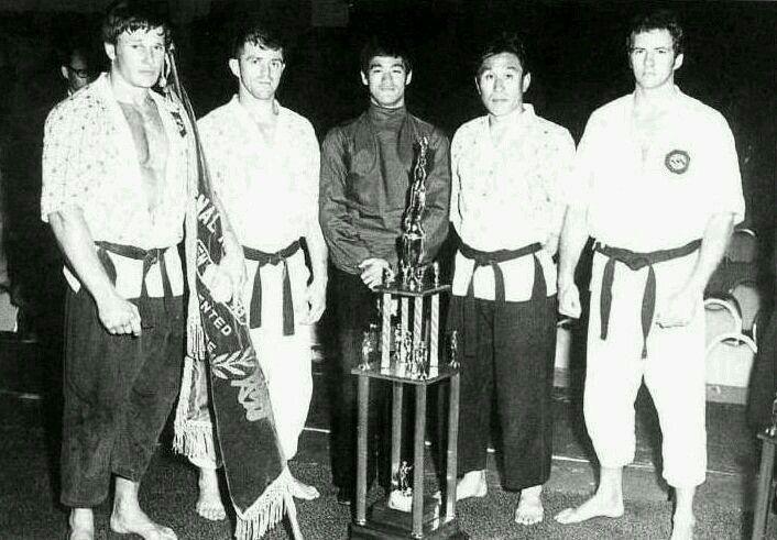 Joe Lewis,Bruce Lee and friends..