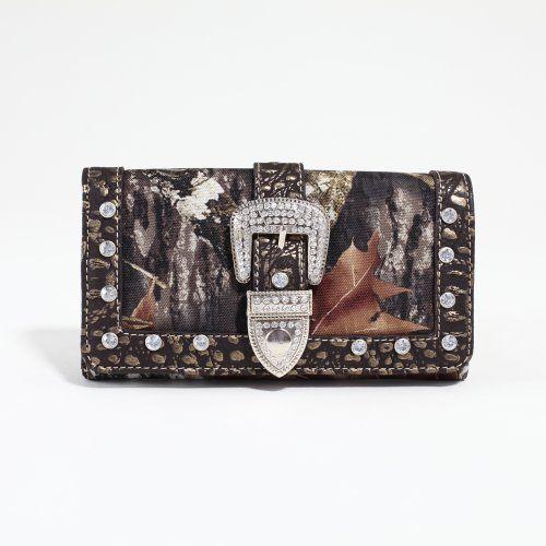 LICENSED Mossy Oak Camoflage Wallet w/Rhinestone MT1-W0342 by Mossy Oak, http://www.amazon.com/dp/B00AWT3RZ4/ref=cm_sw_r_pi_dp_6quirb1BP4V7S