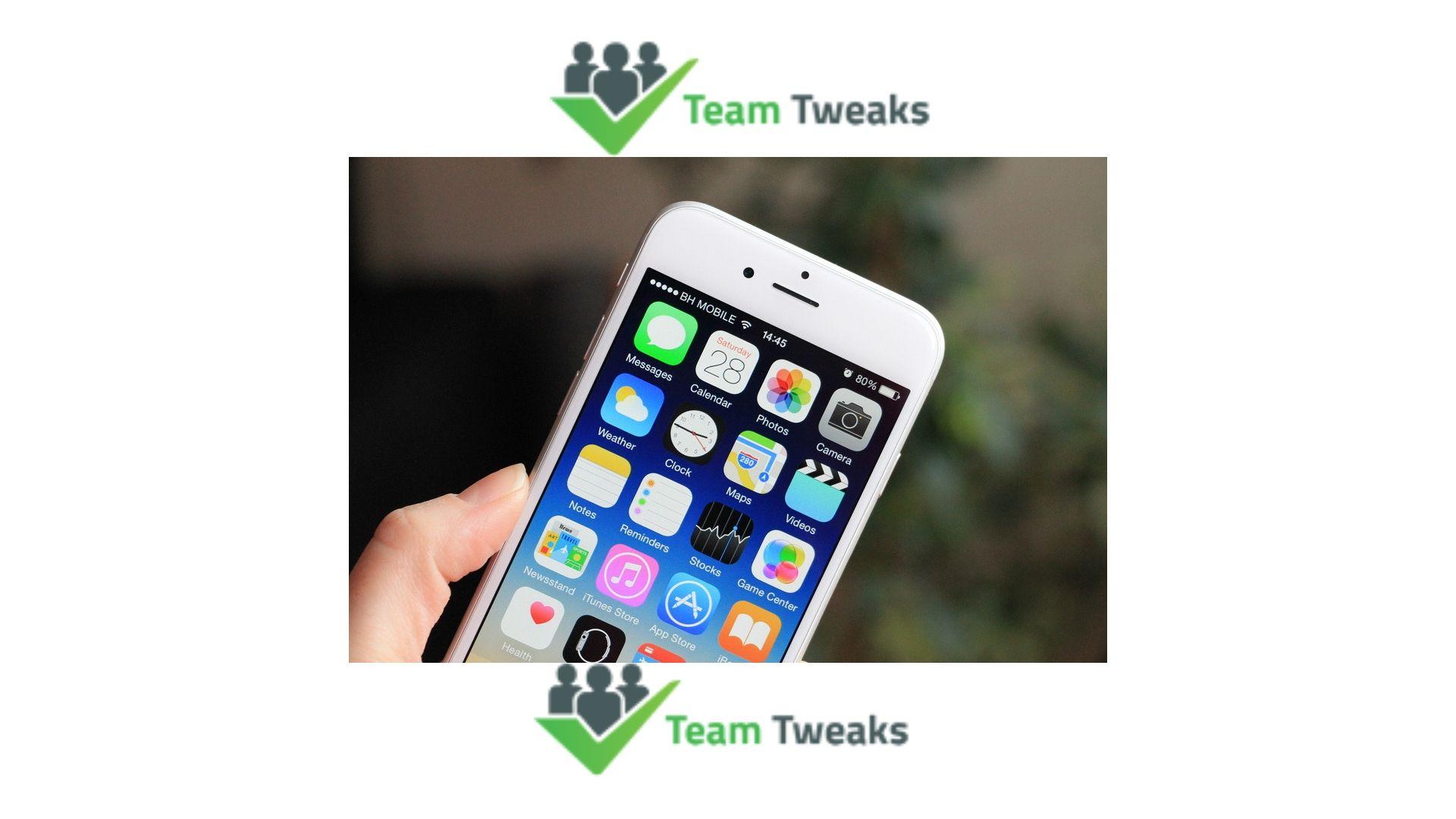 Team tweaks is one of the best Mobile app development
