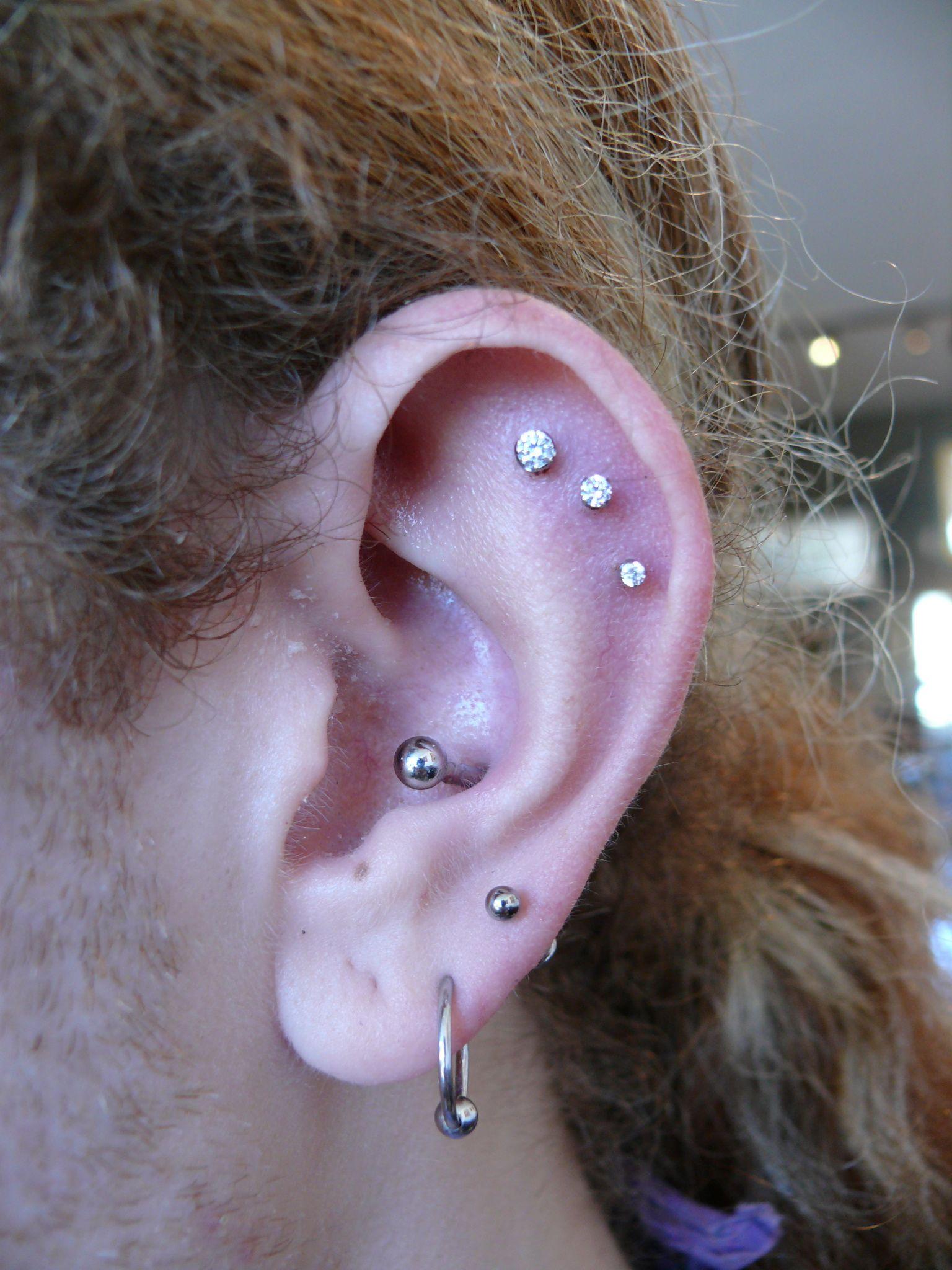 3 Piercing Inside Cartilage Piercing  Bing Images
