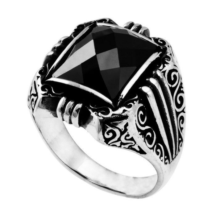 silver-rings-for-men-with-stone-221 | Gioielli che vorrei ...