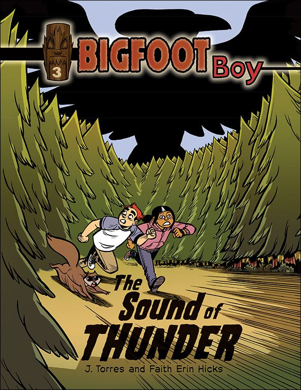 This conclusion to the Bigfoot Boy graphic novel trilogy adds a backdrop of Pacific Northwest mythology to the popular story about an ordinary boy who becomes a hero through the power of magic.