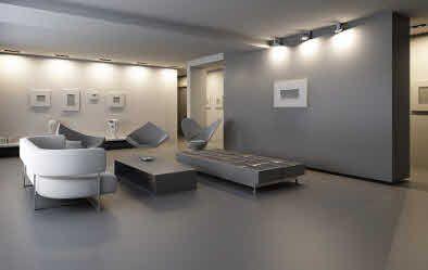 Gietvloer epoxy pu coating betonlook vloeren