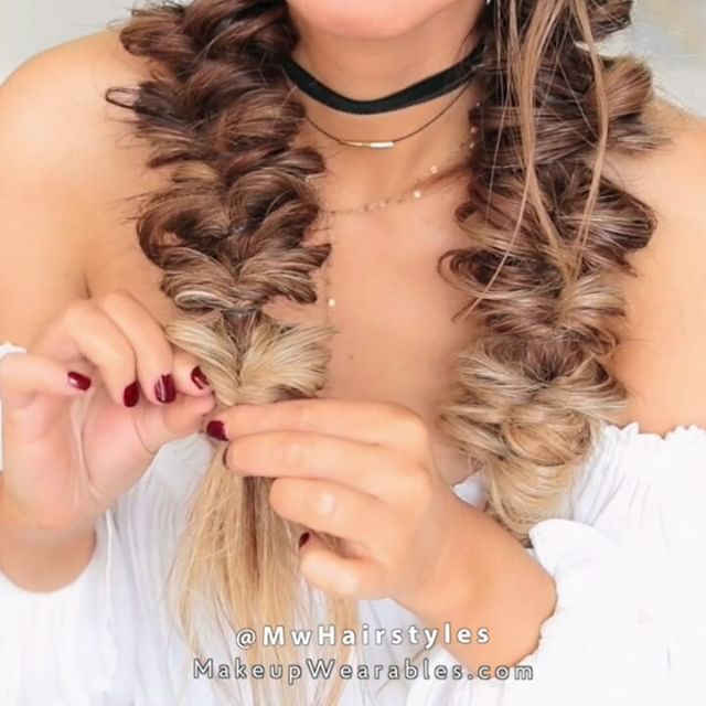 Lazy Fuax Fishtail Boxer Braid Hairstyle How To Hair Styles Boxer Braids Hairstyles Long Hair Styles