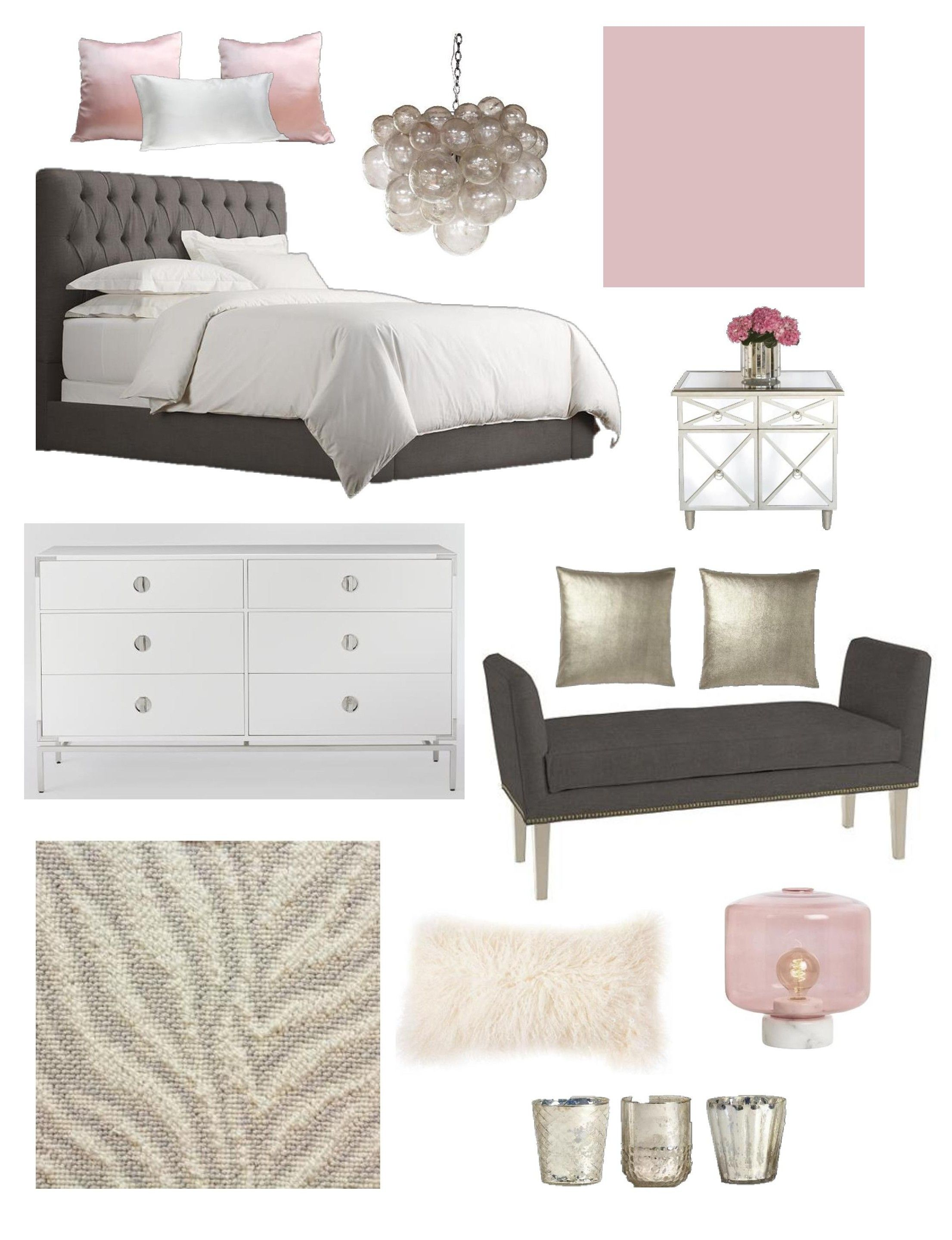 make your bedroom blush  k  l interiors  rose gold and