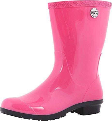UGG Australia Women's Sienna Rain Boots Diva Pink 9