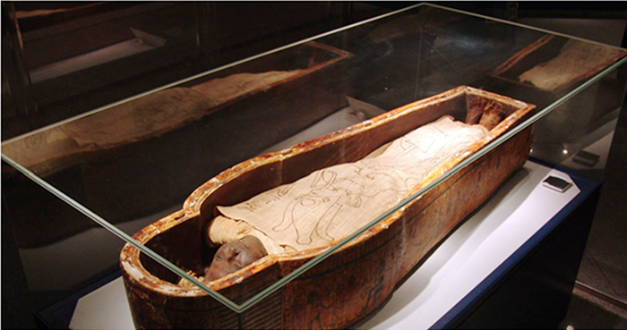 The Mummy Of Masaharti Discover Egypt S Monuments Ministry Of Tourism And Antiquities Mummy High Priest Egypt