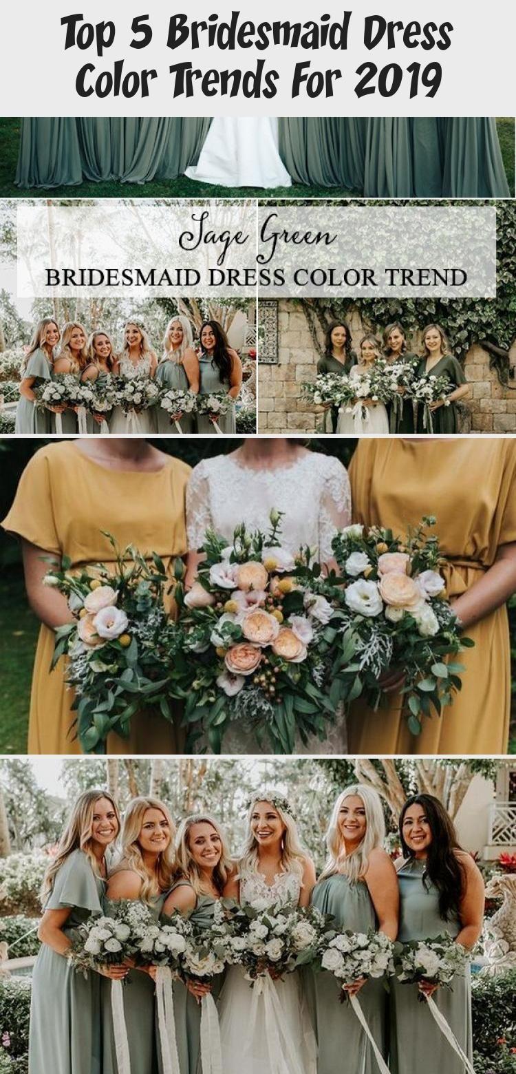 Top 5 Bridesmaid Dress Color Trends For 2019 - Clothing #sagegreenbridesmaiddresses trending sage green bridesmaid dresses #GrayBridesmaidDresses #ModestBridesmaidDresses #ElegantBridesmaidDresses #PeachBridesmaidDresses #PinkBridesmaidDresses #sagegreenbridesmaiddresses