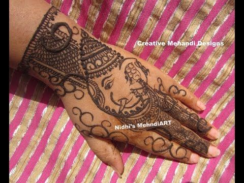 Mehndi Designs And S : Youtube #lord #ganesha #ganpati #ganesh #chaturthi #festival special