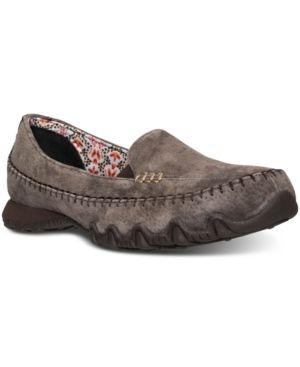Skechers 6.5 Brown Slip On Shoes - Comfort