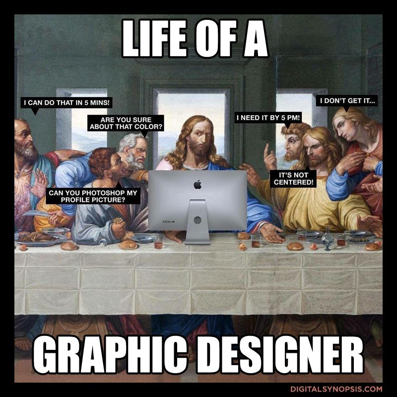 21 Memes That Graphic Designers Will Relate To #graphicdesign