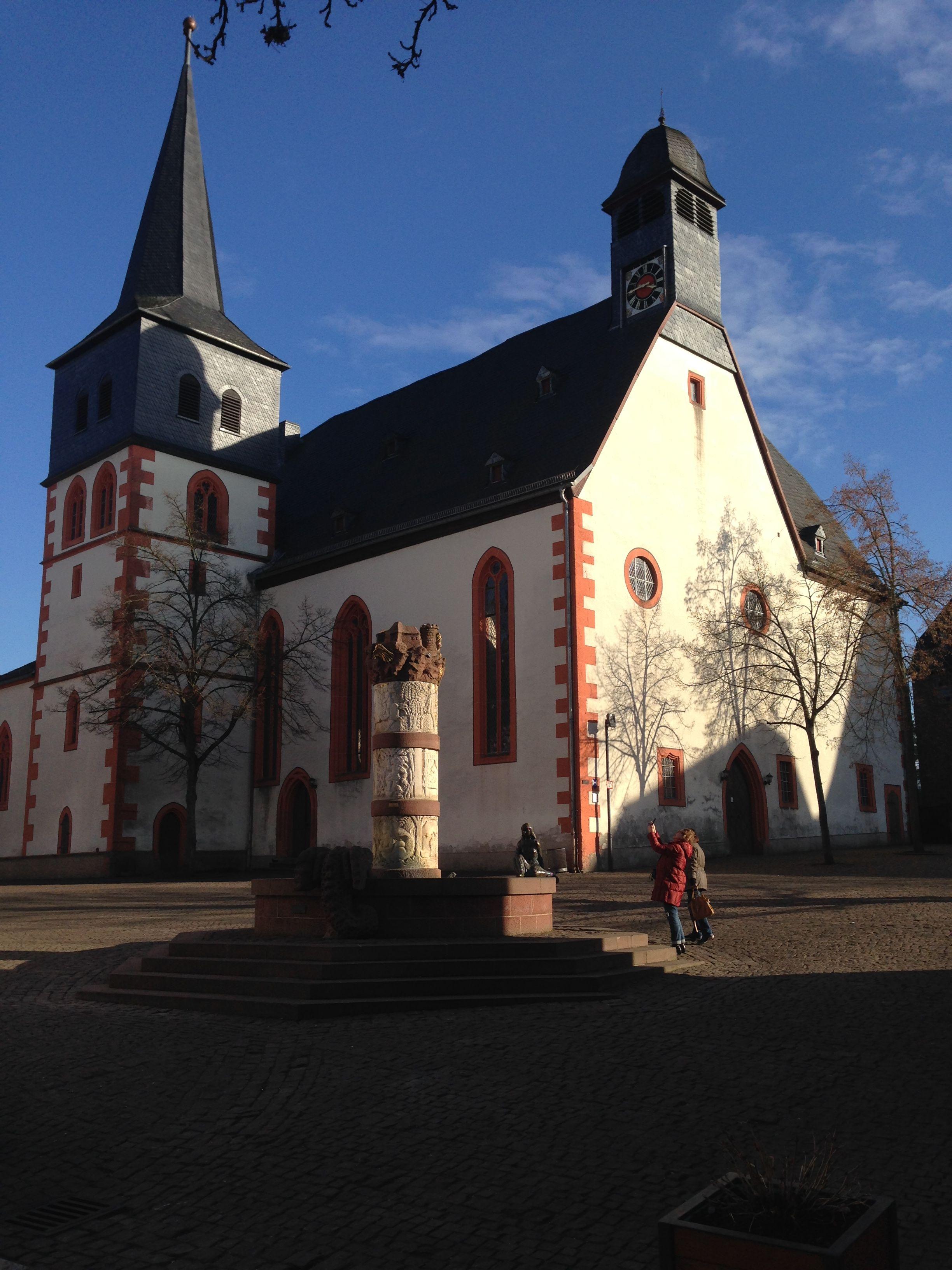 Katharinenkirche 12 Jahrhundert In Steinau An Der Strasse Steinau An Der Strasse Historische Fotos Strasse