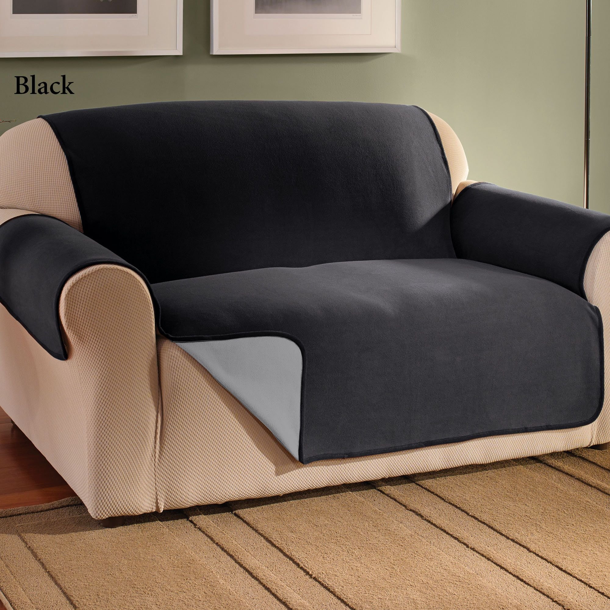 10 Sofa Covers Black Brilliant And Also Interesting