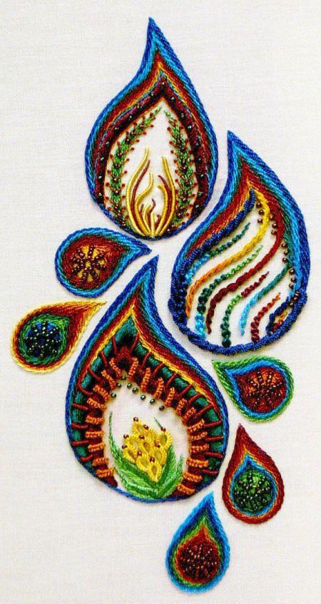 Brazilian Embroidery Stitches | Stitchworm