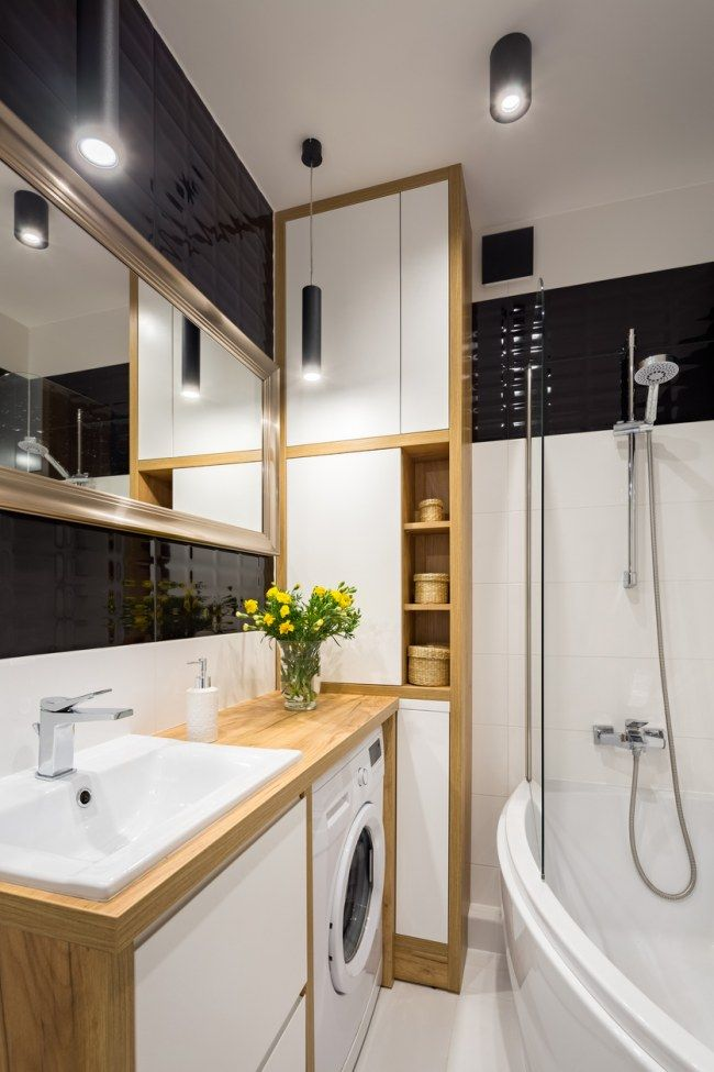 Come arredare un bagno piccolo, rettangolare o quadrato
