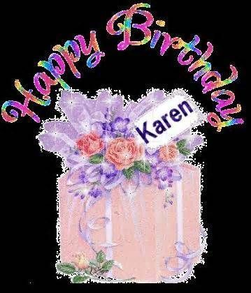 Happy Birthday Karen Login To Give Your Vote Download Image Email