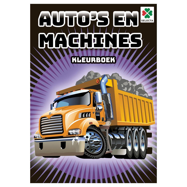 Kleurboek Auto S En Machines Kleurboek Auto Sportwagens