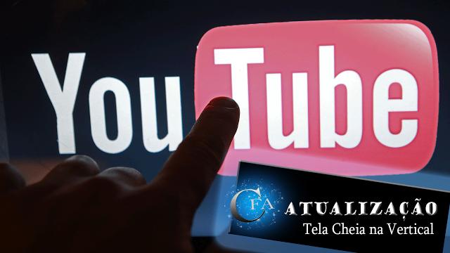 Veja como assistir vídeos no aplicativo do Youtube na vertical e com a tela cheia. ACESSE: https://youtu.be/axMUcWOicrI