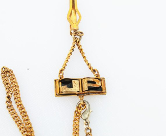 Vintage Man's Gold Chain Key Protector/ by Gener8tionsCre8tions, $45.00