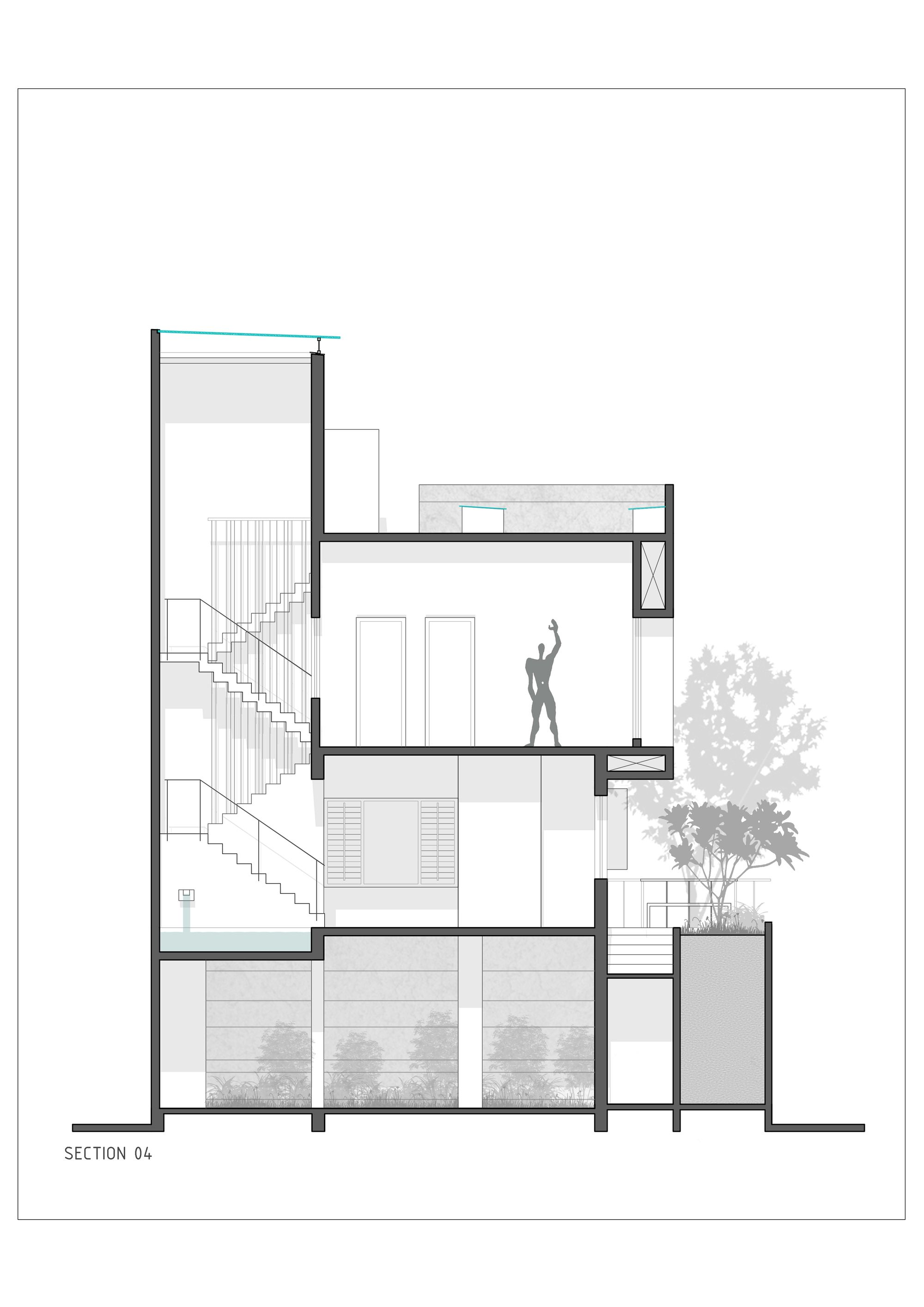 Gallery Of The H Cube House Studio Lagom 23 House Home Studio House Plans