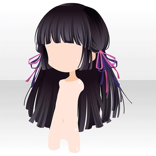 艶夜の物語 Games アットゲームズ ヘアスタイルのスケッチ アニメヘアスタイル ヘアアート