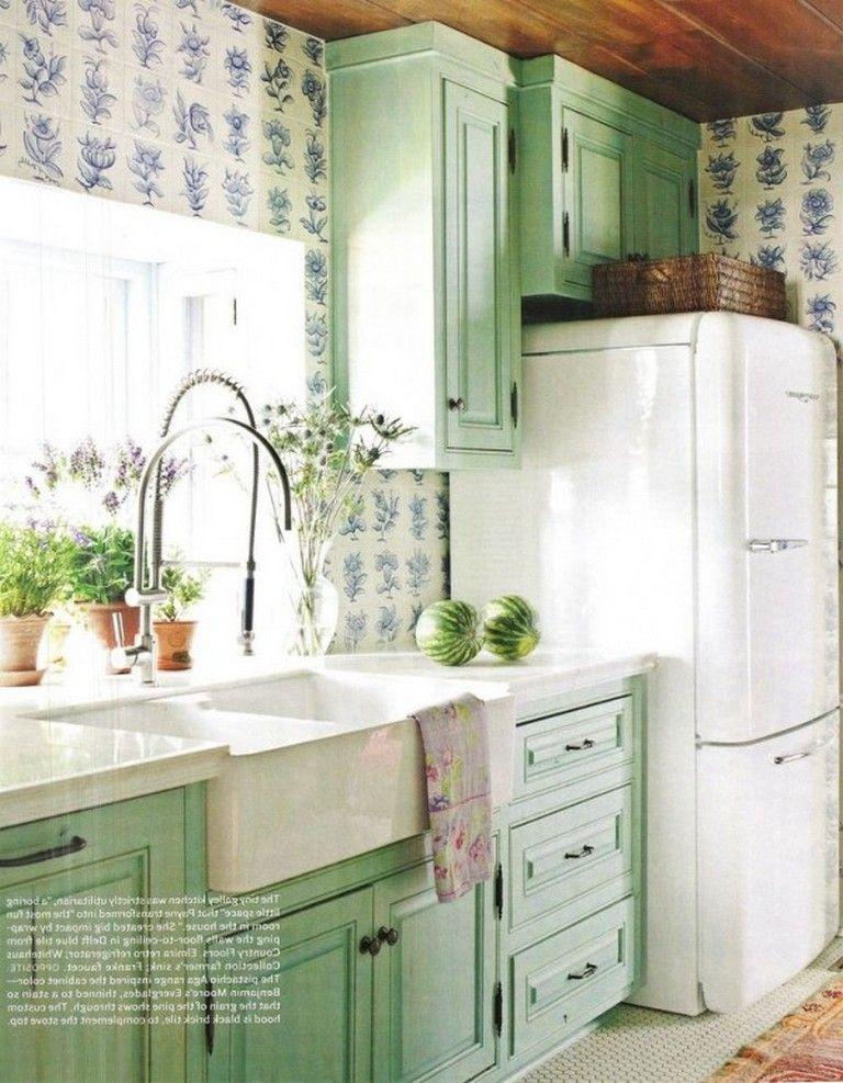 28 Beautiful Retro Kitchen Ideas To Decorate Even On A Budget Retro Kitchen Appliances Retro Kitchen Modern Retro Kitchen