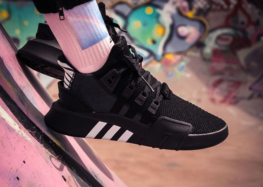 Adidas Equipment Bask ADV 'Black Blue Tint' | Adidas shoes women ...