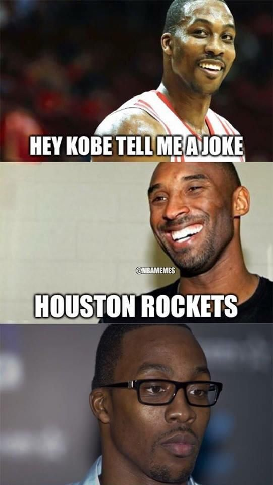 Kobe Bryant to Dwight Howard. #Lakers #Rockets - http ...