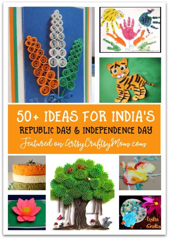 70 India Republic Day Crafts And Activities For Kids