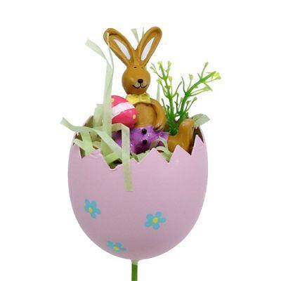 Photo of Flower plug egg with animal sort. 8cm L30cm 4pcs