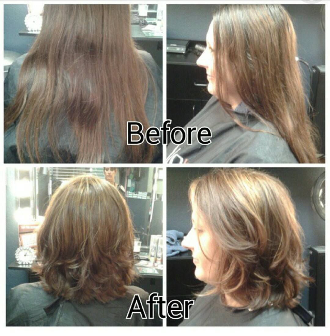 Hair Cut And Color Transform Hairtrends Makeover