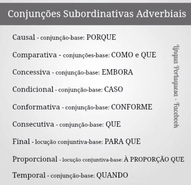 Amado Conjunções | Português | Pinterest | Conjunção, Português e Língua  VV35