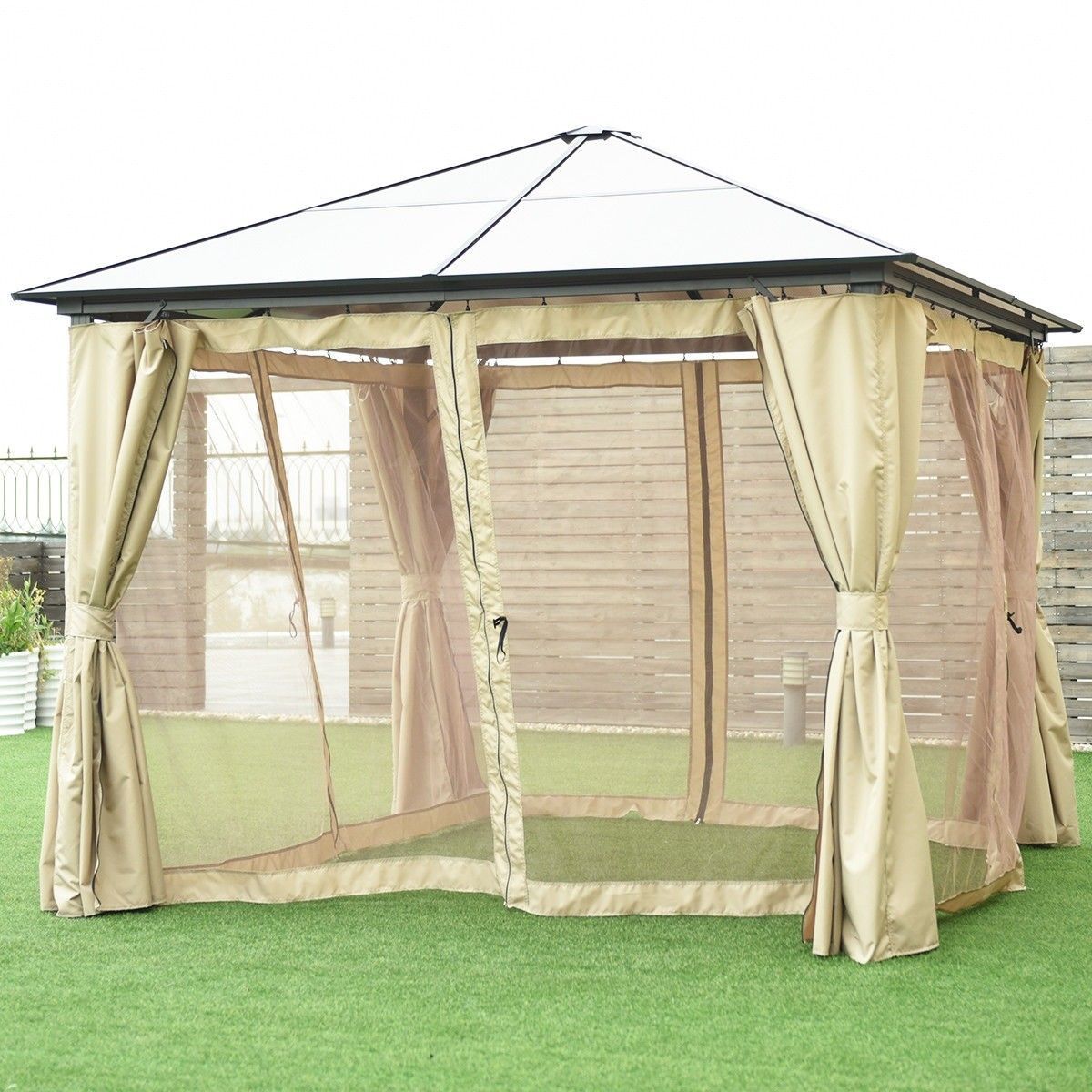 13 X 10 Gazebo Canopy Shelter Patio Party Tent Gazebo Canopy Gazebo Patio Gazebo