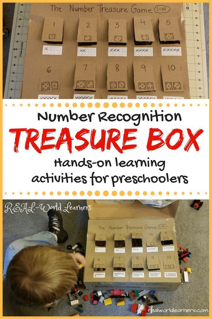 Number Recognition Game for Preschoolers Number