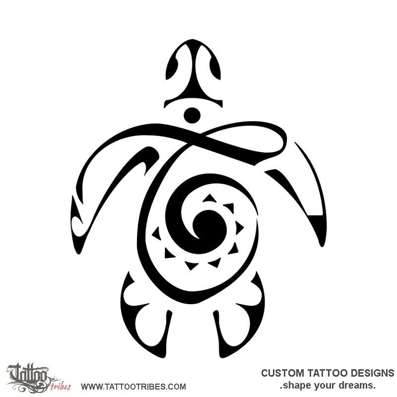 Tatuaggio di Tartaruga T, Figlio tattoo - custom tattoo designs on TattooTribes.com