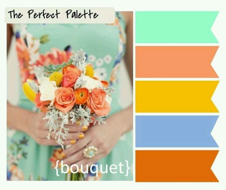 Looking For Your Wedding Color Palette? The Perfect Palette Wants To Help!  The Perfect Palette Is Dedicated To Helping You See The Many Ways You Can  Use ...