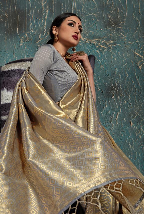 Pakistani Indian Designer Bollywood wedding party Silk Saree Sari for women girl