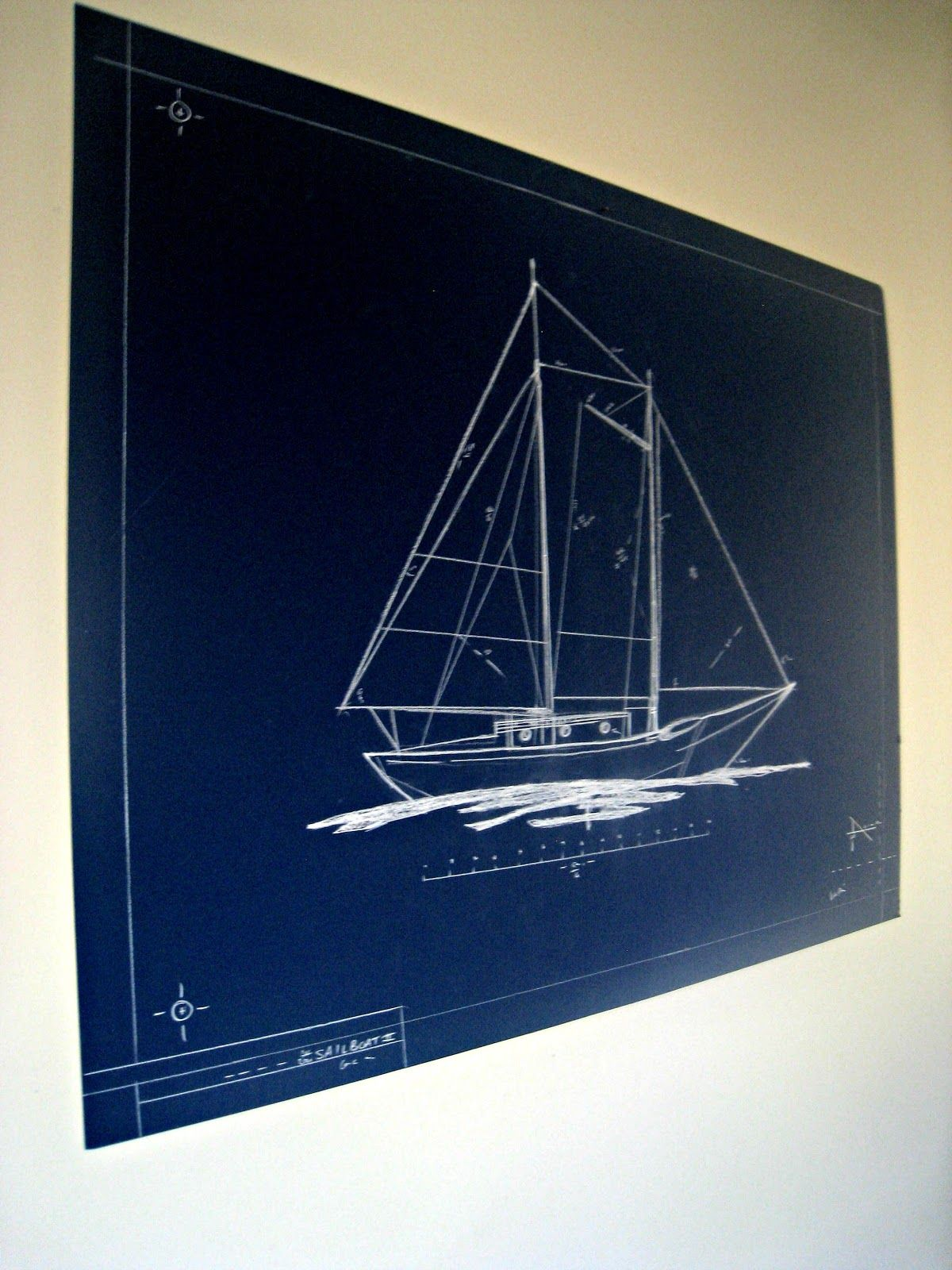 Blueprint art blueprint art outdoor christmas and diy art blueprint art malvernweather Images